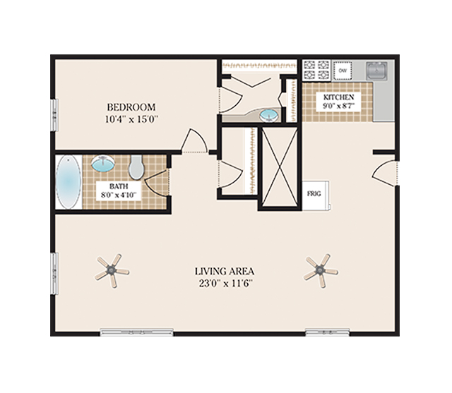 Floor Plans The Jefferson Apartments For Rent In Morristown Nj