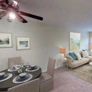 Diningroom - Livingroom